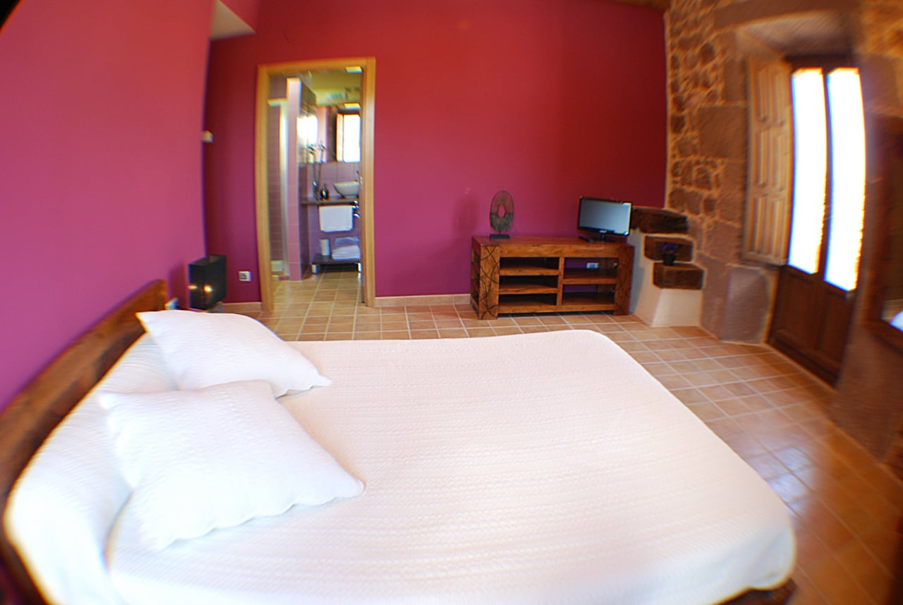 Double room La Berrueza in Hostal rural Ioar